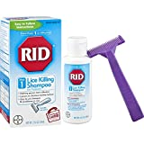 RID Lice Killing Shampoo, Proven Effective Head Lice Treatment for...