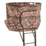 Guide Gear 20' 2-Man Double Rail Ladder Tree Stand with Hunting Blind