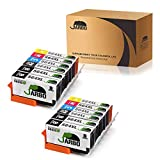 JARBO 5 Color Compatible Replacement for HP 564XL Ink Cartridge 2 Sets+2 Black for HP Photosmart 5520 6520 7520 5510 6510 7510 7525 B8550 C6380 HP Premium C309A C410A HP Officejet 4620 HP Deskjet 3520