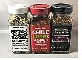 Trader Joe's Seasoning - 21 Salute Seasoning , Chile Lime and Everything but the bagel Seasoning