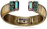 "Sorrelli ""Wild Fern"" Petite Crystal Open Ring, Size 7-9"