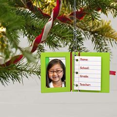 Hallmark-Keepsake-Christmas-Ornament-2020-Year-Dated-School-Memories-Photo-Frame-DIY-Personalized