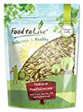Pepitas/Pumpkin Seeds by Food to Live (Raw, No Shell, Kosher) - 8 Ounces