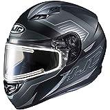 HJC CS-R3 Trion Adult Snowmobile Helmet with Electric Shield - MC-5SF / X-Large