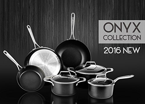 TECHEF-Onyx-Collection-12-Wok-Stir-Fry-Pan-with-Glass-Lid-Coated-with-New-Teflon-Platinum-Non-Stick-Coating-12-Black
