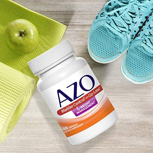 AZO Bladder Control with Go-Less® & Weight Management Dietary Supplement | Helps Reduce Occasional Urgency* | Promotes Healthy Metabolism* | Supports a Good Night's Sleep* | 48 Capsules 3