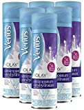 Gillette Venus with Olay UltraMoisture Violet Swirl Shave Gel 6oz (Pack of 6)
