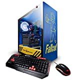 iBUYPOWER Fallout Basic Limited Edition Gaming PC Computer Desktop (Intel i5-8400 3.7GHz, NVIDIA GeForce GTX 1050 2GB, 8GB DDR4-2666 RAM, 240GB SSD, WiFi Included, Liquid Cooled, Win 10 Home) Blue