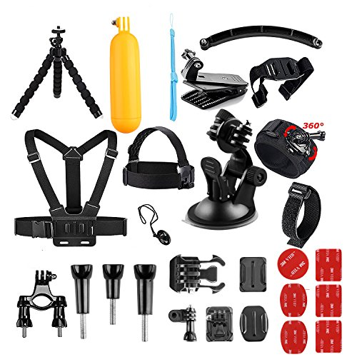 AKASO Outdoor Sports Action Camera Accessories Kit for Gopro Hero Session AKASO EK7000 CAMPARK Go Pro Hero 5 in Swimming Any Other Outdoor Sports