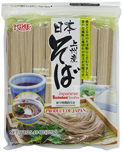 Hime Dried Buckwheat Soba Noodles, 25.40-Ounce