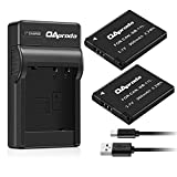 OAproda 2 Pack Replacement NB-11L Battery and Ultra Slim Micro USB Charger for Canon NB-11LH , PowerShot A2300 IS, A2400 IS, A2500, A2600, A3400 IS, A3500 IS, A4000 IS, ELPH 110 HS , ELPH 320 HS