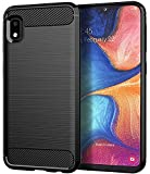 Galaxy A10E Case, Samsung A10E Case, Asmart Shock Absorption Galaxy A10E Phone Case Slim TPU Bumper Cover Soft Flexible Galaxy A10E Skin Lightweight Protective Case for Samsung Galaxy A10E, Black