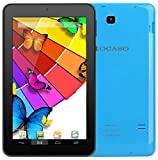 KOCASO MX790 [7 INCH] [Android 5.1] Tablet PC- (Quad Core, 8GB Built-in-Memory, Dual Camera 1024600 WiFi MicroSD Card Slot Micro USB) Free Earbuds Screen Protector Stylus Pen Carrying Pouch- Blue