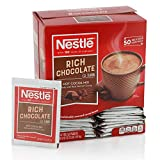 Nestle Hot Chocolate Packets, Hot Cocoa Mix, Rich Chocolate Flavor, Made with Real Cocoa, 50 Count (0.71 Oz each), 35.5 Oz