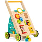 cossy Wooden Baby Learning Walker Toddler Toys for 18 Months