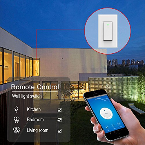 Smart Wifi Wall Switch Touch Light Switch Remote Control Lights And