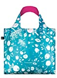LOQI SE.TE Seed Teal Reusable Shopping Bag, Multicolored