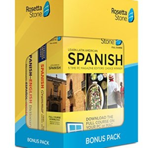 Rosetta Stone Learn Spanish Bonus Pack (24 Month Subscription + Lifetime Download + Book Set) 3