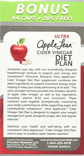 AppleLeanTM Cider Vinegar Diet Complex Supplement, 124 Count 3