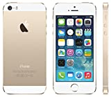 Apple iPhone 5S Gold 16GB Unlocked GSM Smartphone (Certified Refurbished)