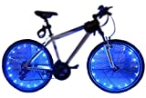 MAGINOVO 2 Pack Led Bike Wheel Light   Waterproof Bicycle Tire Light   Safety Battery Spoke Lights   Cool Bike Accessories and Decoration for bicyclers to Ride at Night