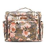 JuJUBe B.F.F. Multi-Functional Convertible Diaper Backpack/Messenger Bag - Whimsical Whisper