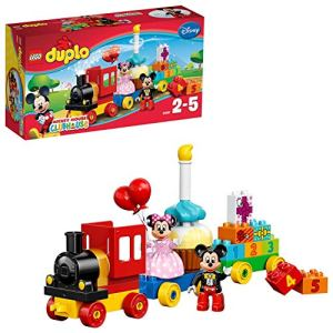 LEGO 10597 DUPLO Disney Mickey and Minnie Birthday Parade Building Bricks Set with Buildable Cake, Train and Number Blocks, Preschool Education Toy for Kids Age 2-5 51AMHP5VukL