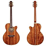 Takamine Pro Series EF508KC NEX All Koa Acoustic Electric Guitar, Natural with Case