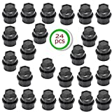 S-Union 24 pcs Lug Nut Cover Cap Replacement for Chevrolet GMC 1500 2500 Full Size Truck 15646250