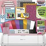 Cricut Maker Machine Bundle 1 Beginner Cricut Guide Smooth Heat Transfer Permanent Vinyl Tools Designs, Colors may Vary