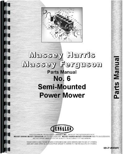 Massey Harris 6 Sickle Bar Mower Parts