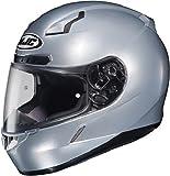 HJC 824-573 CL-17 Full-Face Motorcycle Helmet (Silver, Medium)