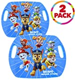 Nextsport Scoot Board Scooter Board with Handles and Casters for Kids (2 Pack Scoot Racer Paw Patrol, 16.5' x 13.5')