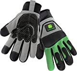 West Chester John Deere JD96650 Waterproof High Dexterity Utility Work Gloves with Thinsulate Lining and Touch Screen: X-Large, 1 Pair