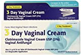 Clotrimazole 3 -Day Vaginal Cream - 0.74 Oz (Pack of 2)