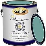Renaissance Chalk Finish Paint - 1 Gallon - Chalk Furniture & Cabinet Paint - Non Toxic, Eco-Friendly, Superior Coverage - Camelot Blue (128oz)