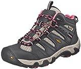 KEEN Women's Koven Mid Waterproof Hiking Boot, Raven/Slate Rose, 9.5 M US