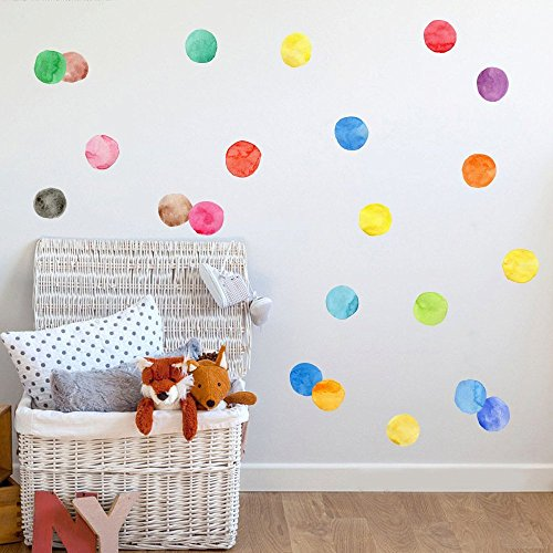 LiveGallery Kids Room Wall art Decals Removable Vinyl Colorful ...
