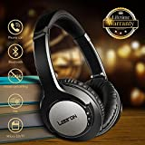 Bluetooth Headphones Over Ear, Hi-Fi Stereo Wireless Headset, Super Comfortable Headphones with Soft Memory-Protein Earmuffs, Bluetooth Headset with Mic for PC/Cell Phones (20 Hrs Battery Life)