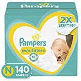 Diapers Newborn / Size 0 (< 10 lb), 140 Count - Pampers Swaddlers Disposable Baby Diapers, Enormous Pack