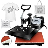 Super Deal PRO 12' X 10' Digital Swing Away Heat Press Clamshell Transfer Sublimation Machine