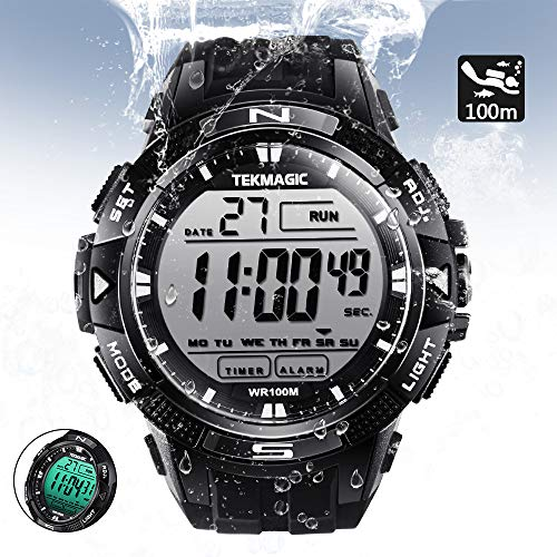 TEKMAGIC 10 ATM Digital Submersible Diving Watch