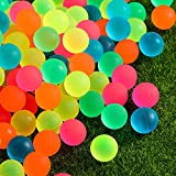 Pangda 120 Pieces Bouncy Balls - Colorful Bouncing Balls Bulk Party Bag Filler, 0.88 Inches in Diameter for Party Favors, Bag Stuffers, Fun, Toy, Gift, Prize