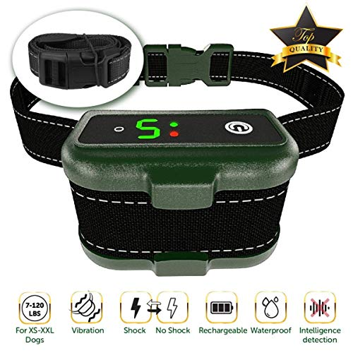 TBI Pro [Newest 2019] Rechargeable Bark Collar - Upgraded Smart Detection Module...