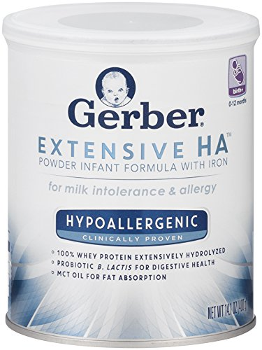 Gerber Extensive HA Hypoallergenic Powder Infant Formula with Iron, 14.1 Ounce