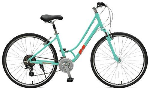 Retrospec Bicycles Motley Hybrid Bike 21 Speed, Viridian, 18'/Medium