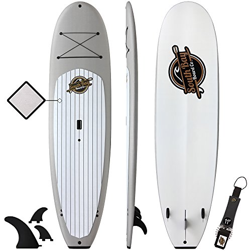 Gold Coast Surfboards SBBC - Stand Up Paddle Board - || 10'4 Anima Soft Top SUP || - Extra Large, Stable & Family Friendly Stand Up Paddleboard - Package Includes SUP Board & Paddle Board Accessories