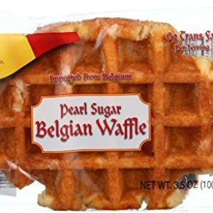 Authentic Imported Pearl Sugar Belgian Waffles (Traditional, 100g 15ct.) 51ApvdGMgQL