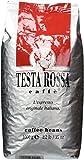 TESTA ROSSA Whole Bean 100% Arabica Coffee 2.2 Pound Bag Highest Quality Italian Gourmet Espresso