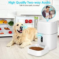 TTPet-Dog-Food-Dispenser-Automatic-Cat-Feeder-Smart-1080P-HD-Camera-Wi-Fi-Enabled-App-Control-2-Way-Audio-Portion-Control-Timer-Programmable-6L-Large-Capacity